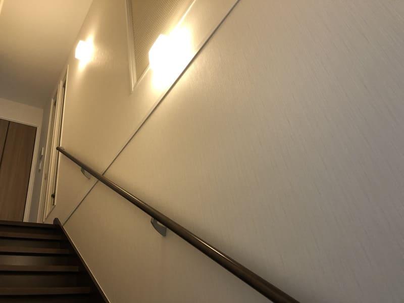 階段の電気消し忘れ