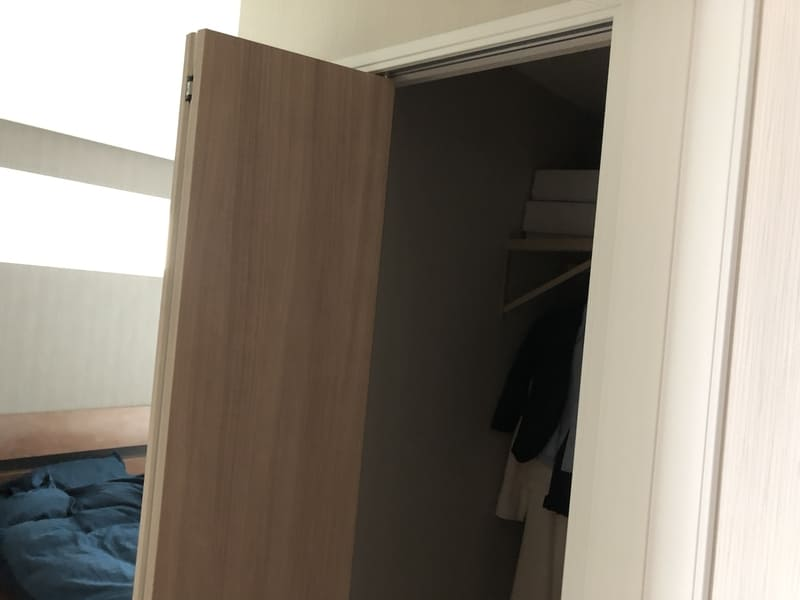 寝室にWIC後悔