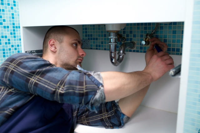 洗面所の増設工事